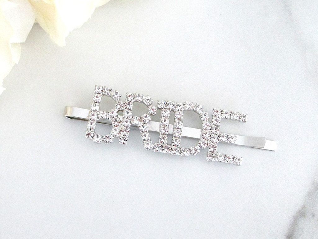 Bride Crystal Bobby Pin | One Piece