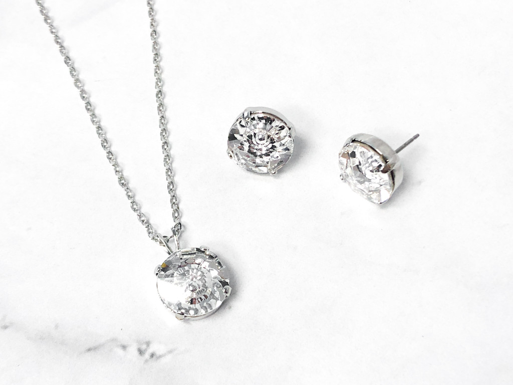 Vision Jewelry Set made with Swarovski Crystals