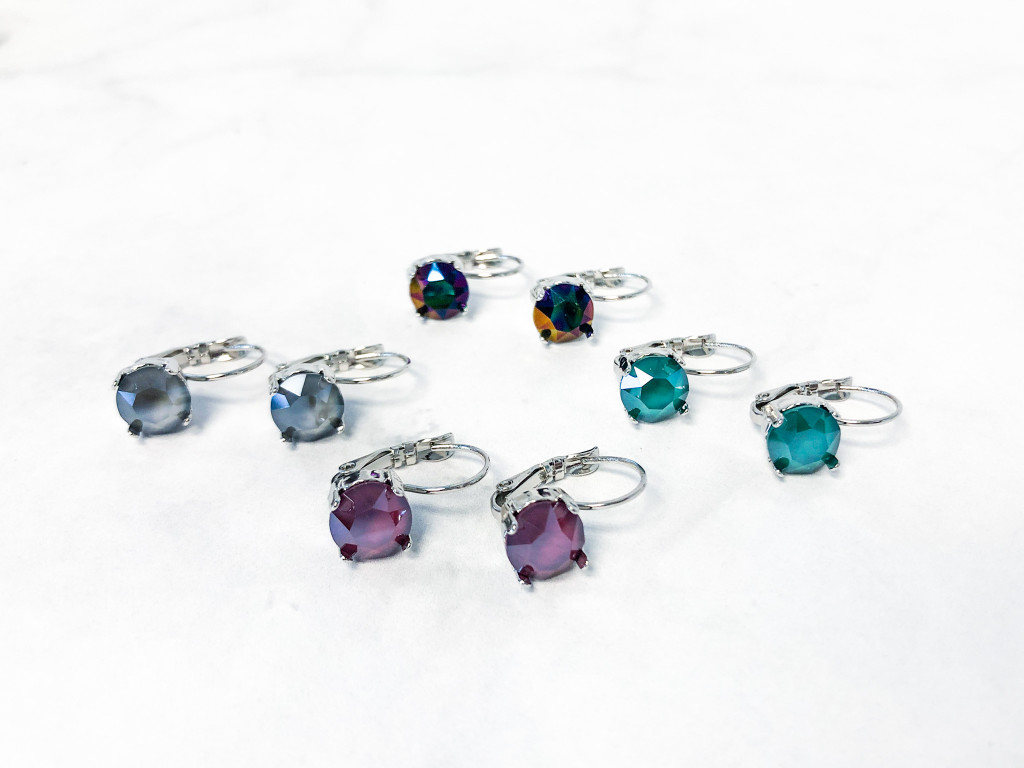 Out of the Woods Earring Set | 8 Swarovski Chatons | Make it Yourself