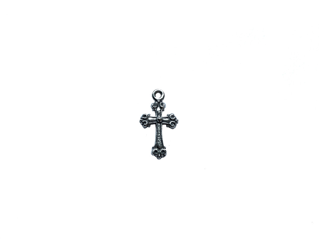 Cross Charm 2 Pieces Per Pack