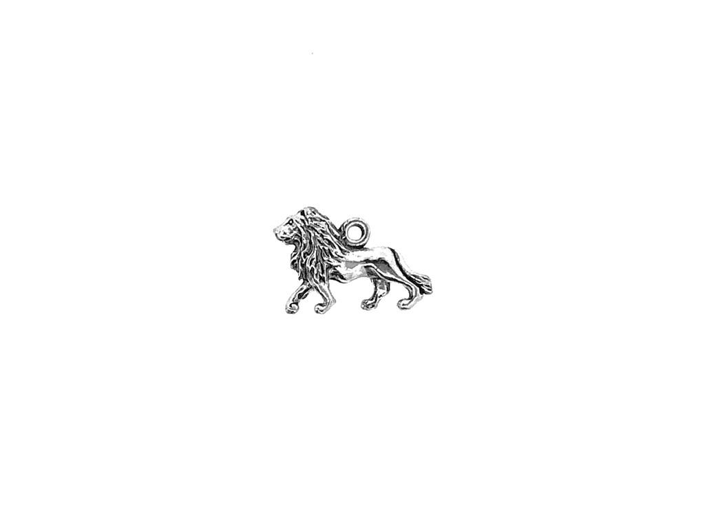 Lion Charm 4 Pieces Per Pack