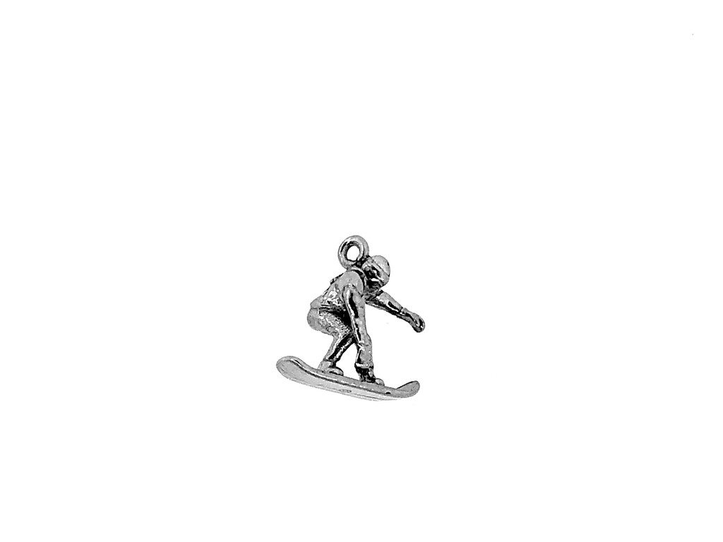 Snowboarding Charm 5 Pieces Per Pack