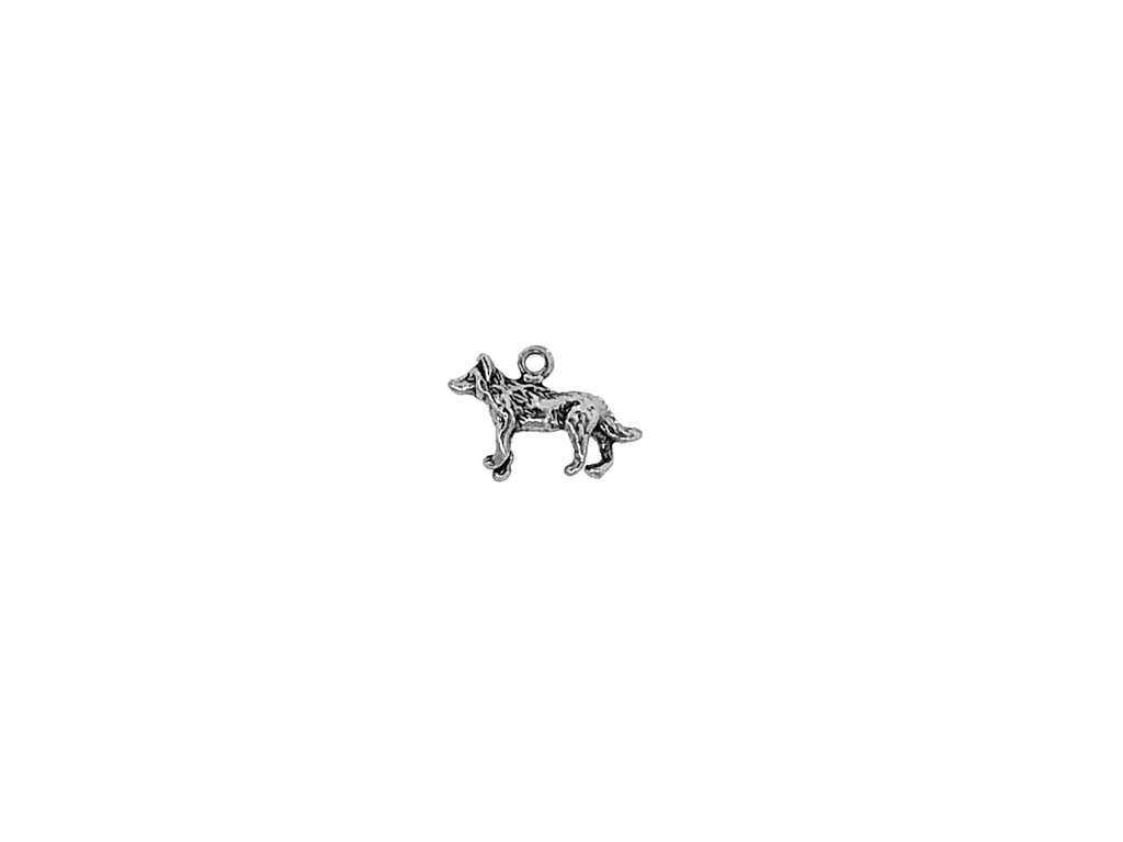 Dog / Wolf H Charm 12 Pieces Per Pack