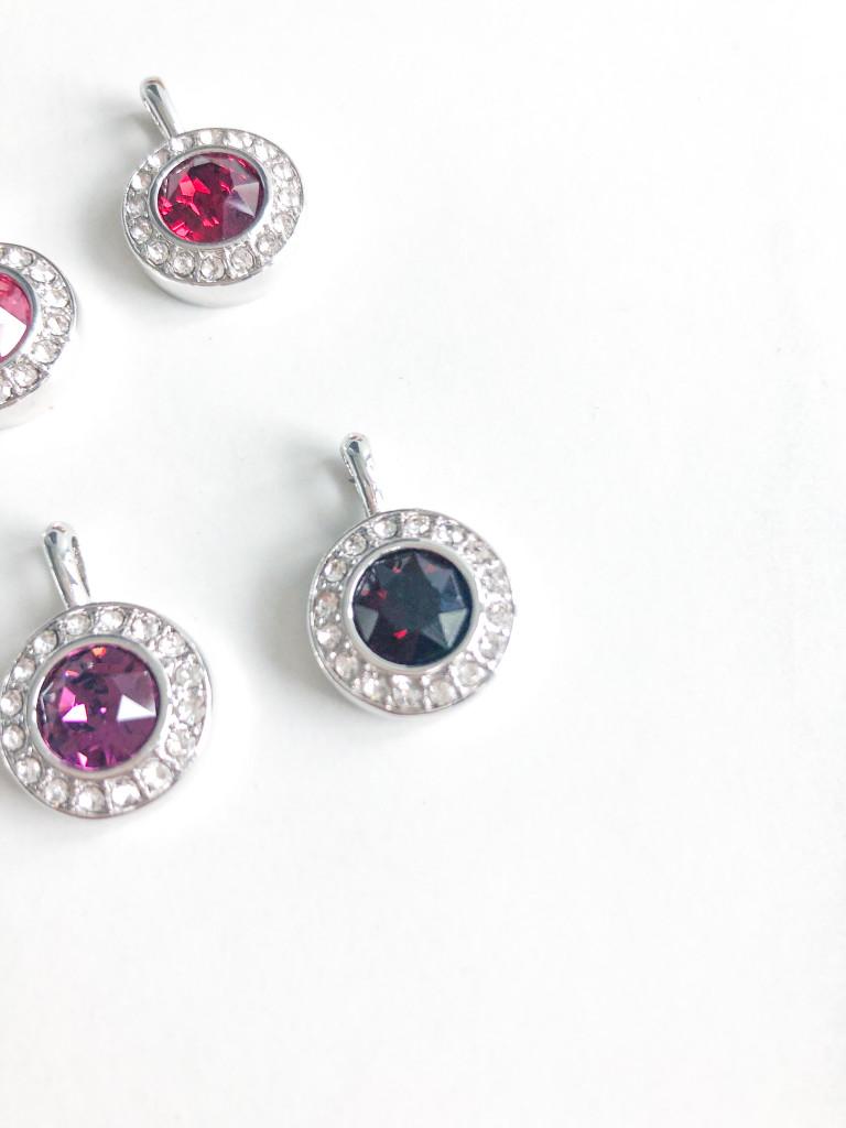 Birthstone Bella Necklace made with Swarovski Crystals