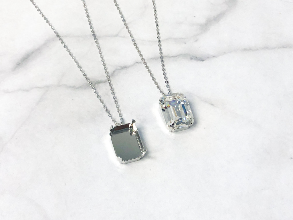 20mm x 15mm Octagon | Single Pendant On Necklace Chain | One Piece