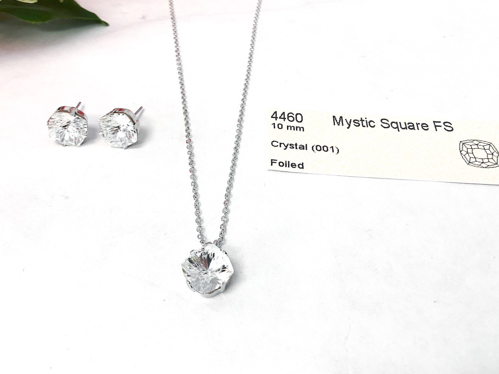 Mystic Jewelry Set made with Swarovski Crystals