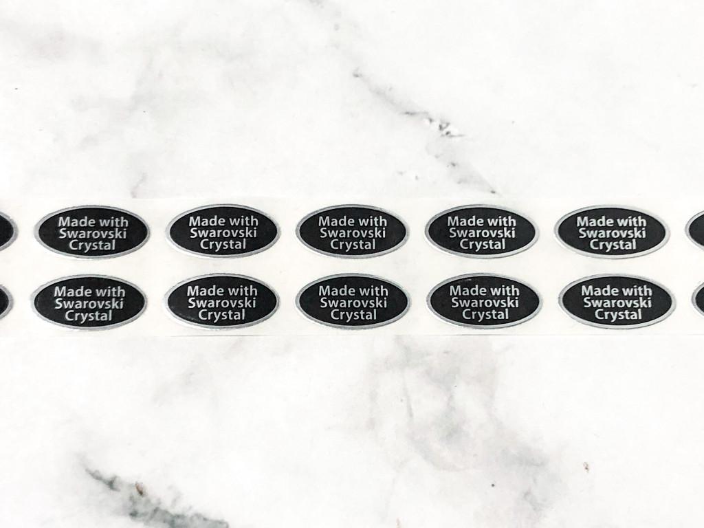 Made with Swarovski Crystal Stickers | 100 Stickers