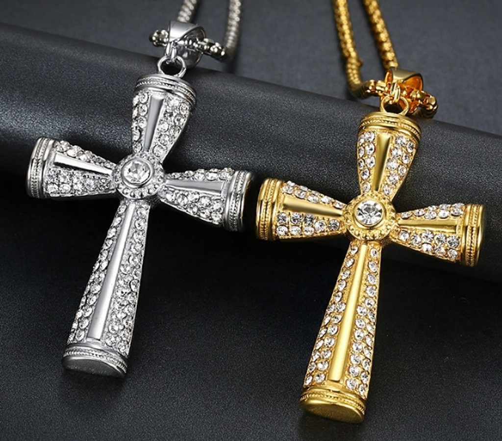 Fancy Cross Necklace