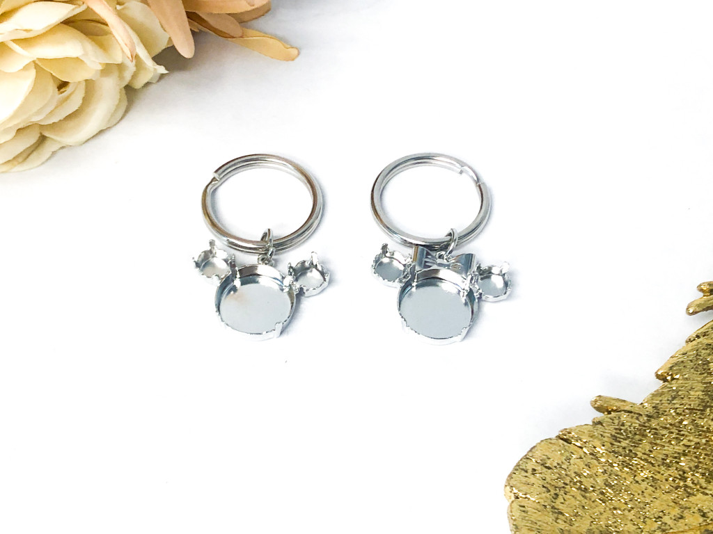 Girl and Boy Mouse Keychains
