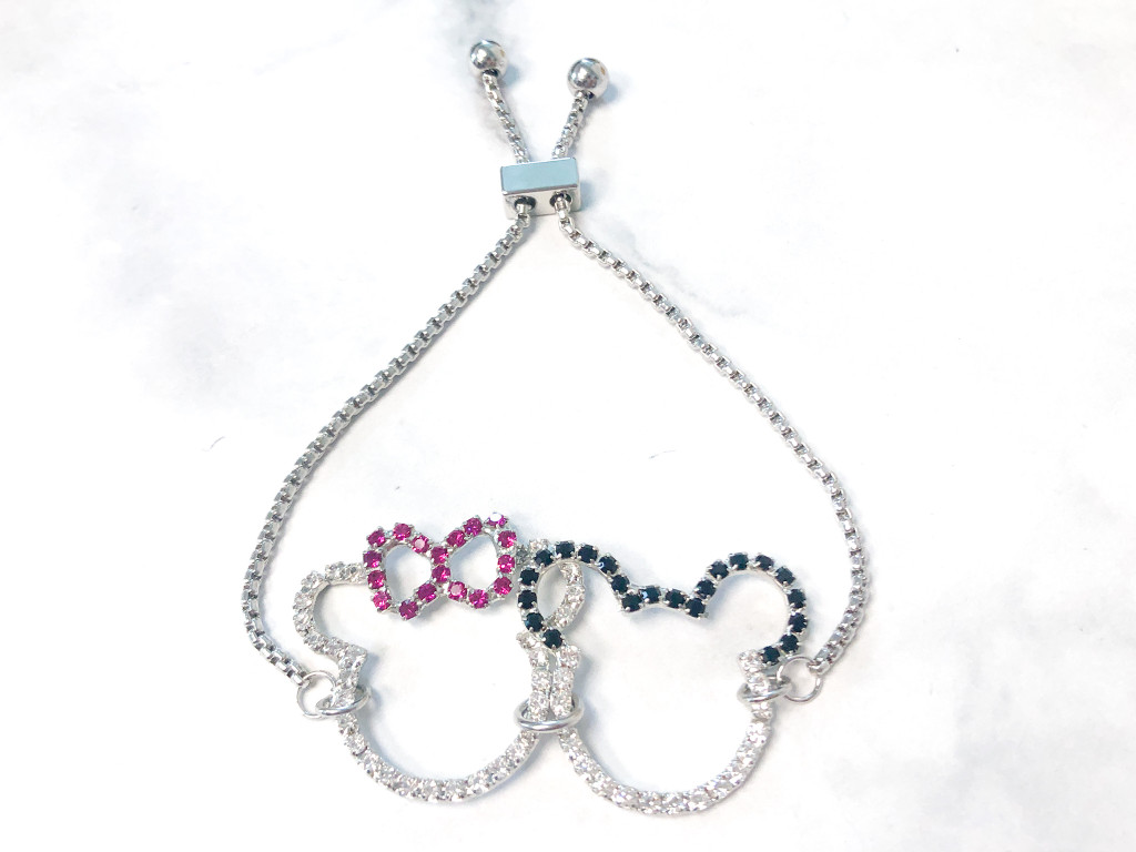 One of a Kind | Girl and Boy Mouse Slider Bracelet Style B