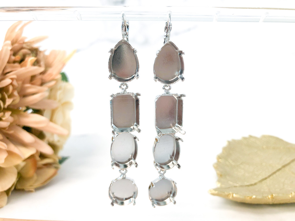 One of a Kind | 4 Tier Earrings | 1 Pair