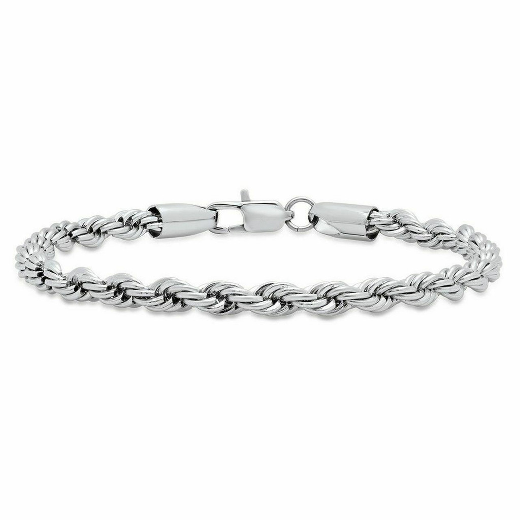 Rope Bracelet | Rhodium or Gold
