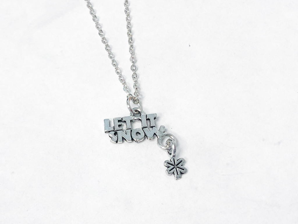 Limited Edition | Let It Snow Charm Necklace