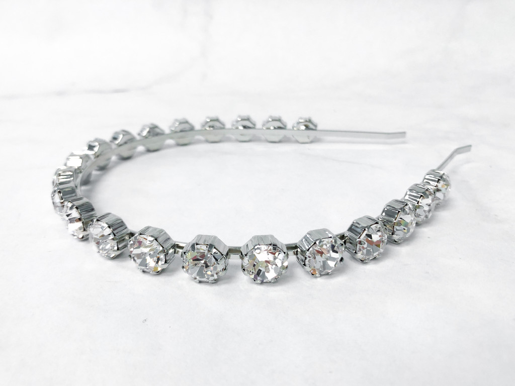 Tiffany Crystal Headband | Finished