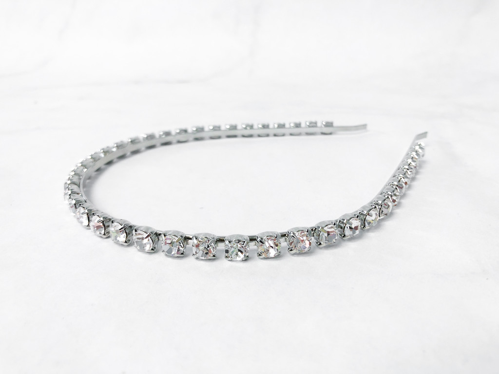 Simple Crystal Headband | Finished