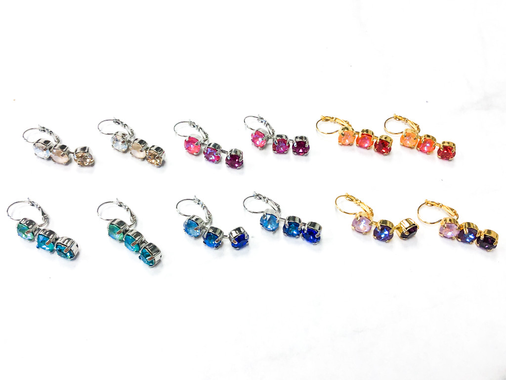 6 Pairs | 3 Box Earrings | Finished