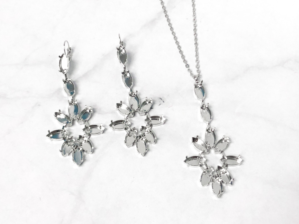 One of a Kind | Navette Earring and Necklace Bundle