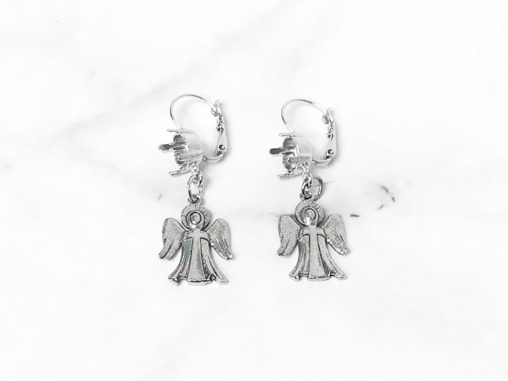 8.5mm | Angel Drop Earrings | One Pair