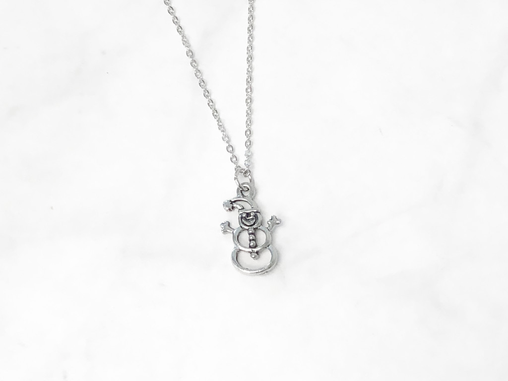 Snowman Charm Necklace | One Piece