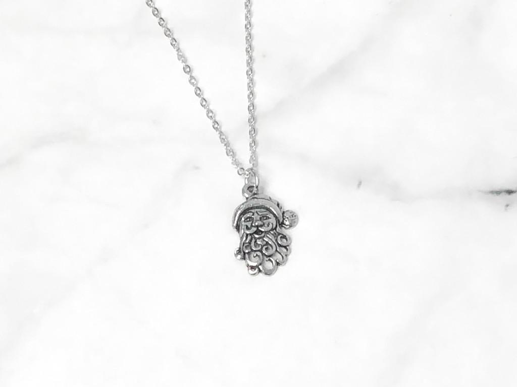 Santa Charm Necklace   One Piece