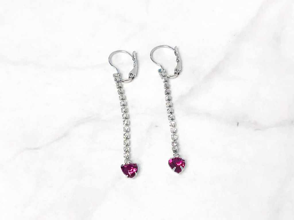 Fuchsia Enchanted Earrings