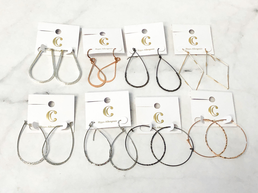 Charming Charlie Loop Earring Bundle | 8 Pairs