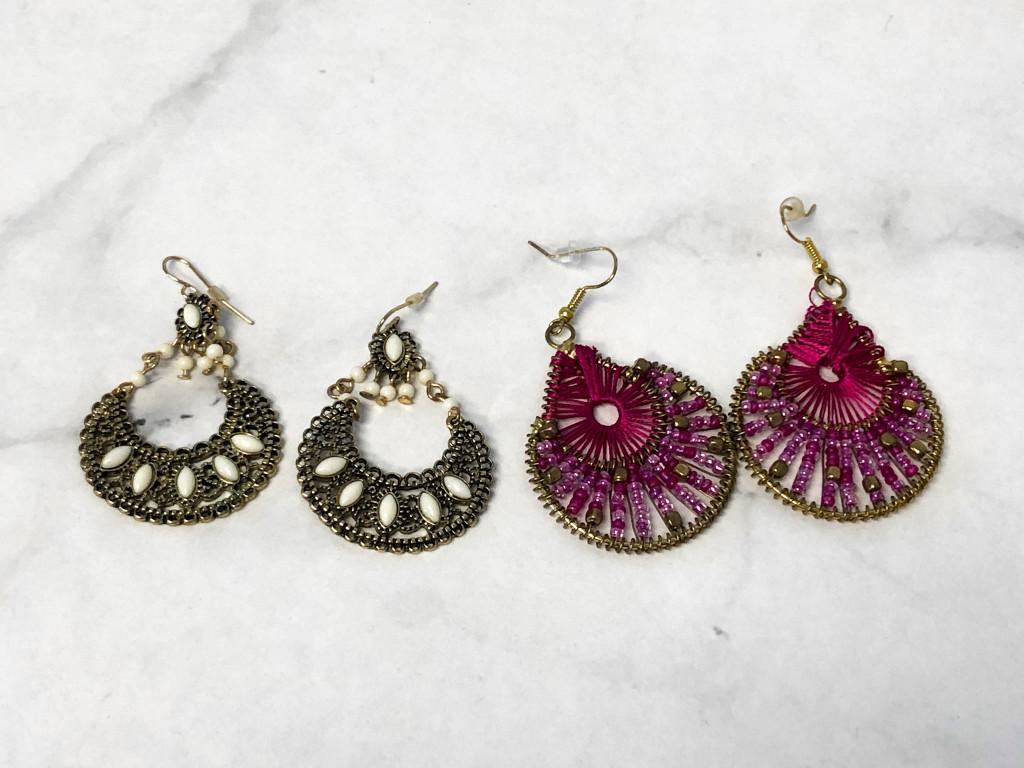 Statement Boho Earrings | 2 Pairs