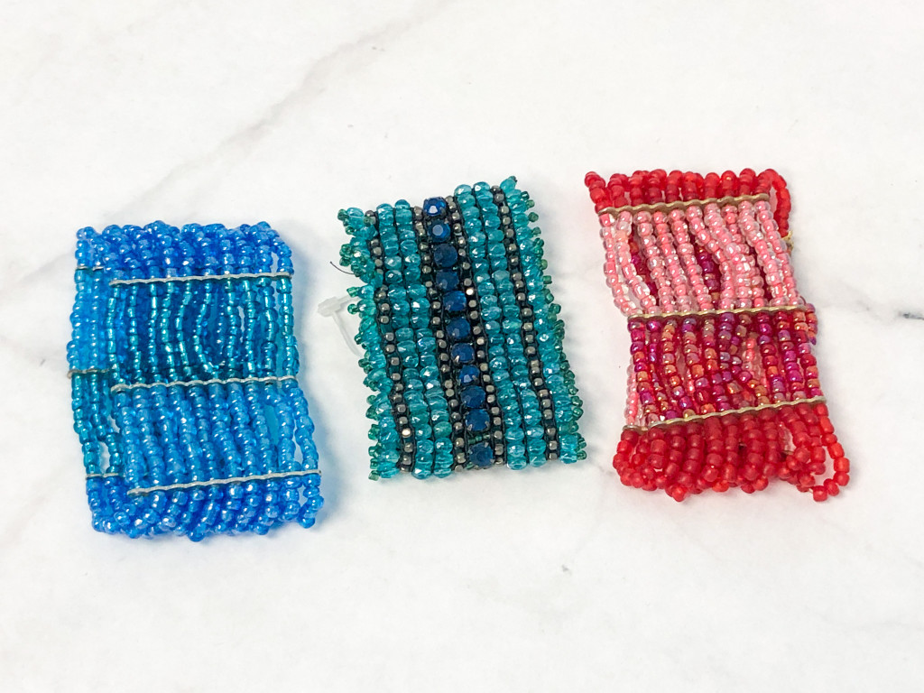 Beaded Statement Bracelet Lot | 3 Pieces
