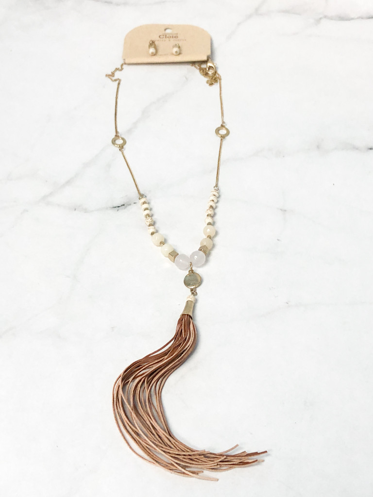 Cloie Necklace and Earring Set