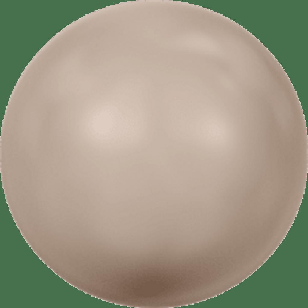 8mm   Crystal Pearl Bead   Swarovski Article 5810   Crystal Powder Almond Pearl   250 Pieces