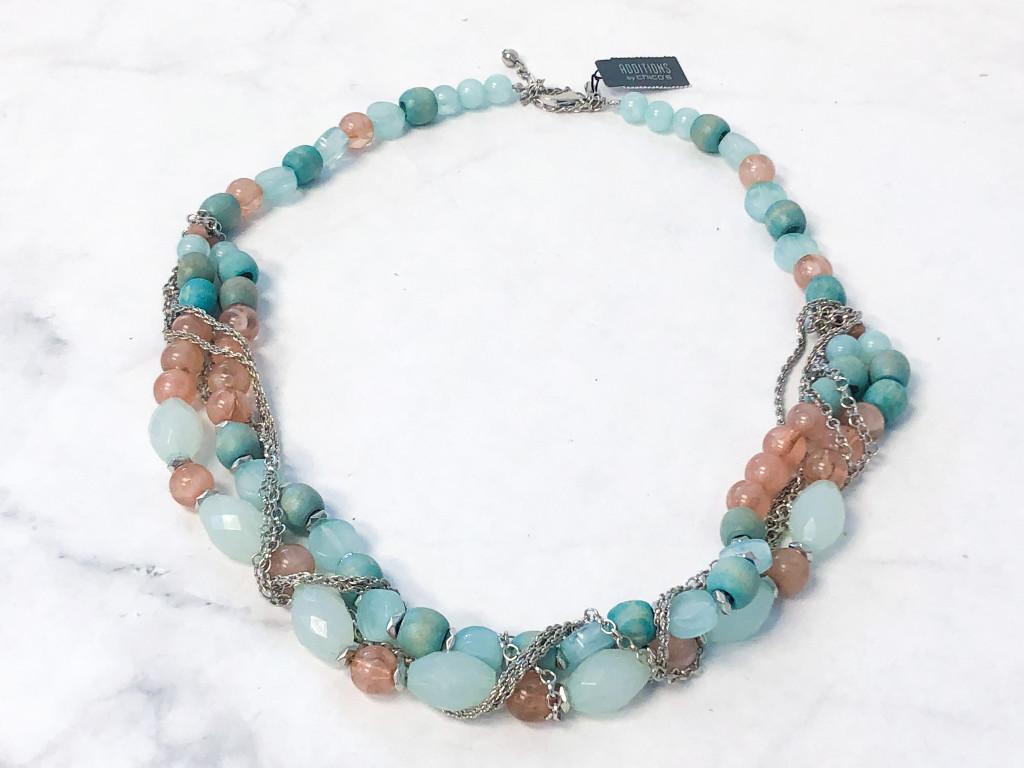 Chicos Beaded Necklace | MSRP 39.95