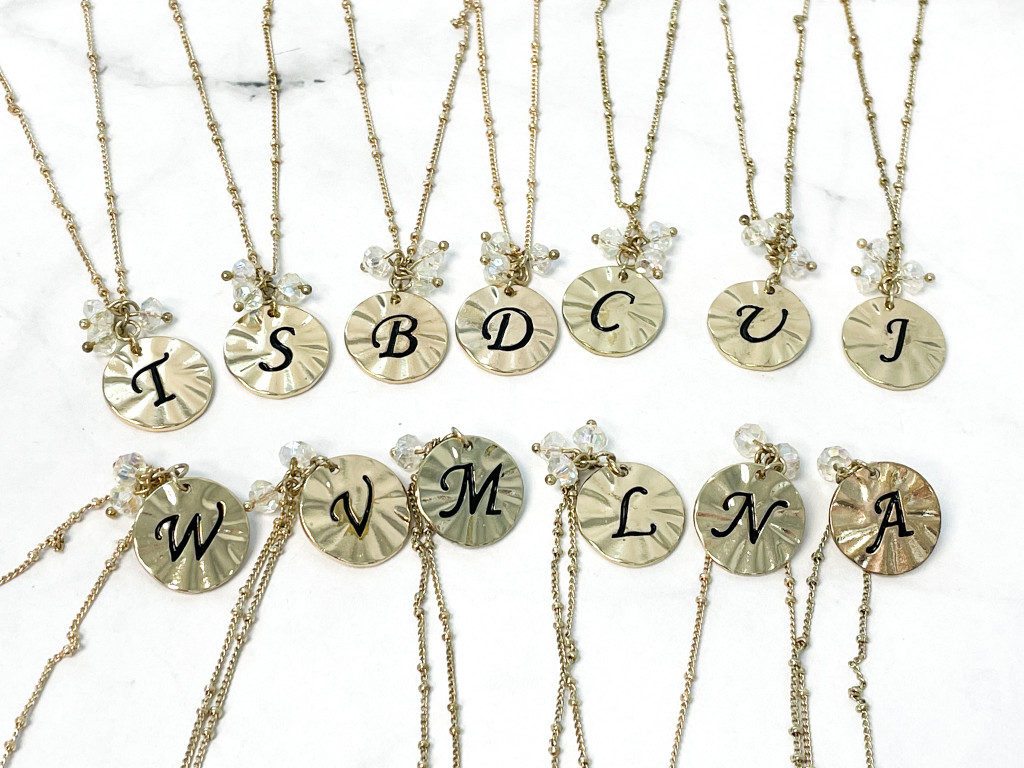 Initial Necklace (Comes w/ Box)   Letter A