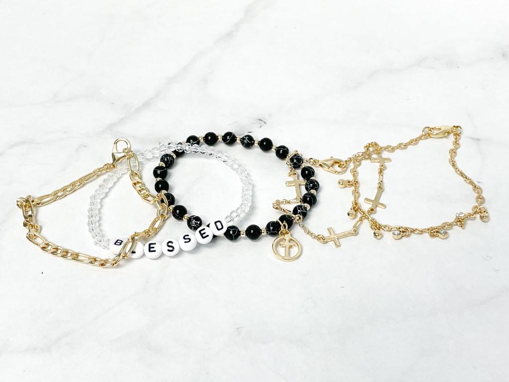 Blessed Layering Bracelet Set