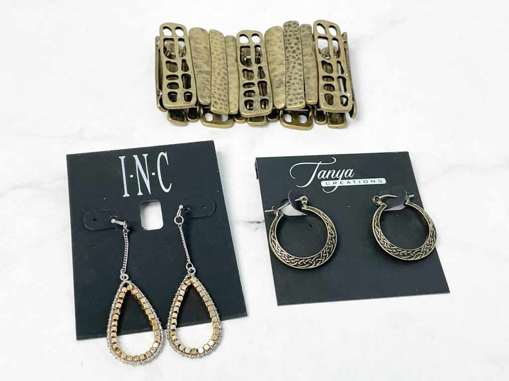 Earring and Bracelet 3 Pack Bundle