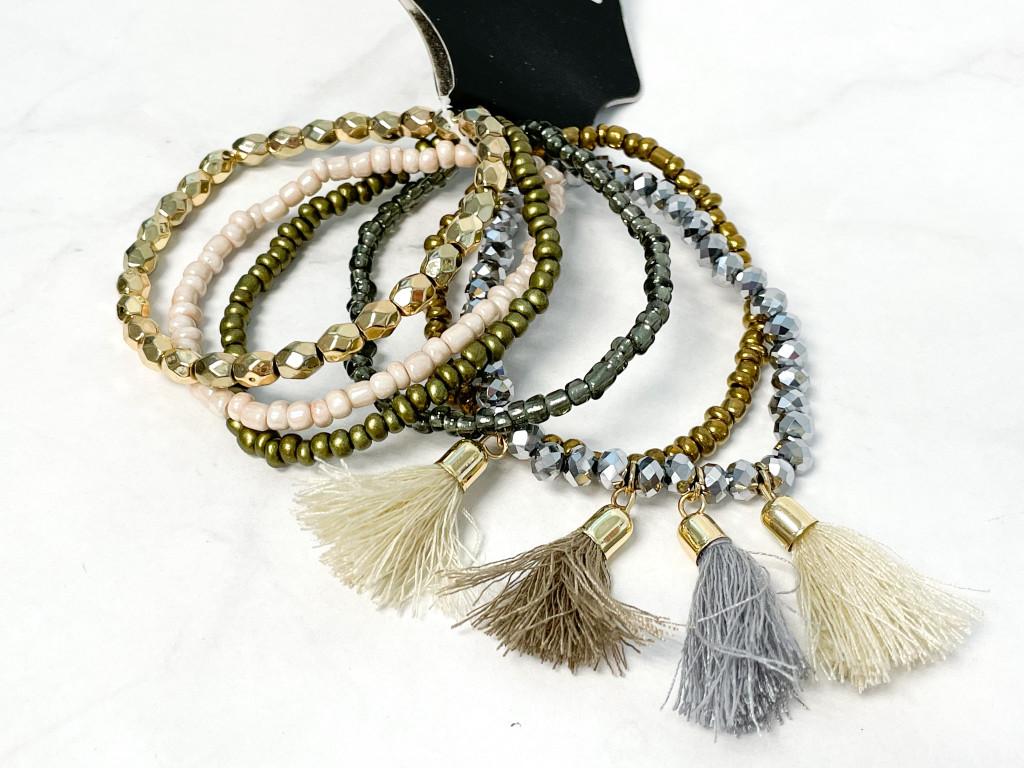 Day to Night Life Beaded Bracelet Bundle