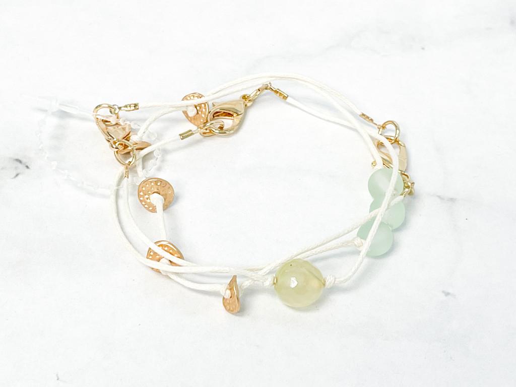 Jade Waters Layering Bracelets