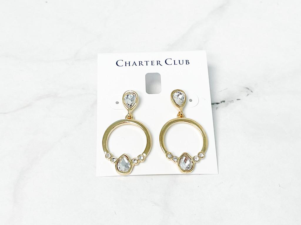 Charter Club Gold Earrings | MSRP 24.50