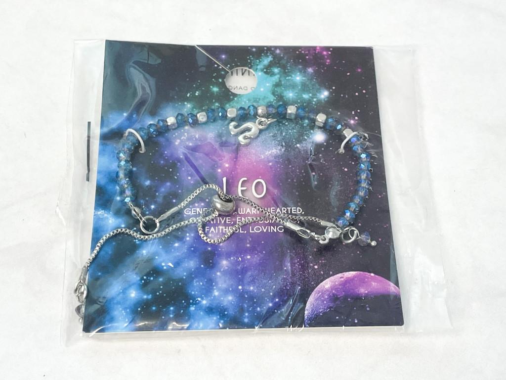 Leo Slider Bracelet