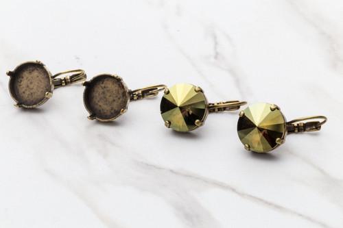 14mm Classic Drop Earrings