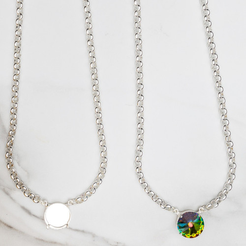 18mm Round | Pendant Necklace