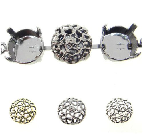Filigree Element Style 3 Fits 11mm Empty Chain