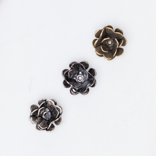 11mm | Rose Element | 12 Pieces