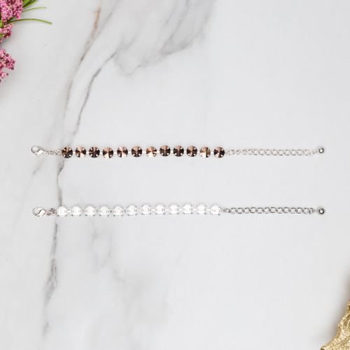 12mm Round | Classic Eleven Setting Bracelets