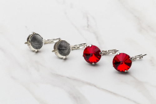 12mm Round Classic Drop Earring