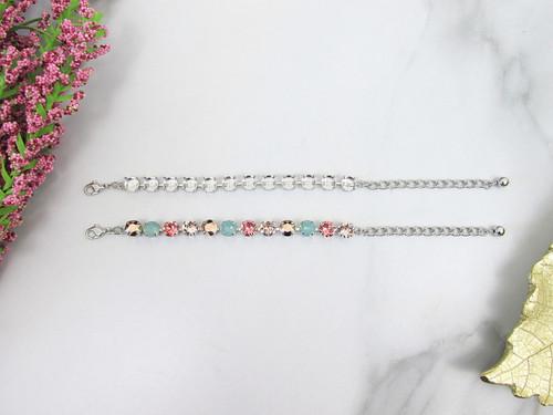 8.5mm | Classic Twelve Setting Bracelets | Three Pieces