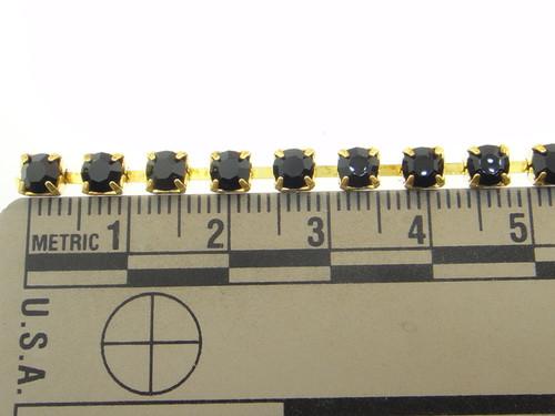 4mm Rhinestone Crystal Chain