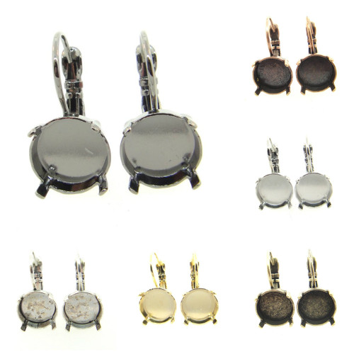 11mm Low Profile Drop Earring different finishes
