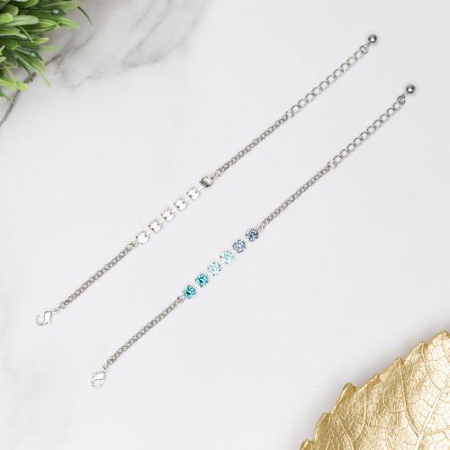 6mm | Classic Six Setting Bracelets | Three Pieces