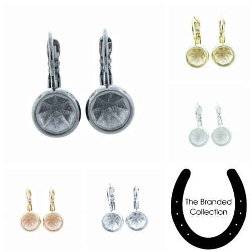8.5mm Casted Classic Drop Earrings