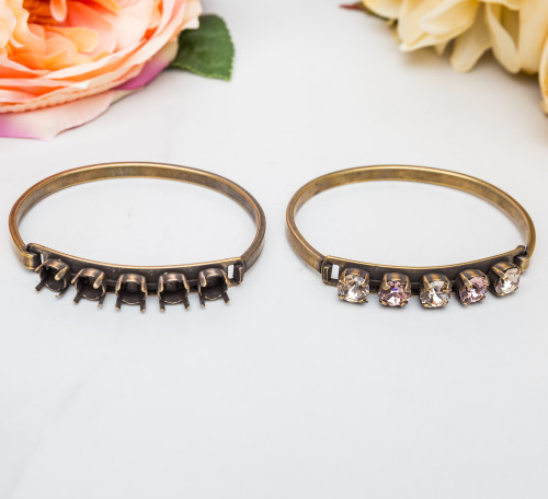 8.5mm | Five Setting ID Bracelet